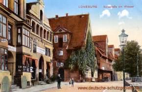 Lüneburg, Salzstraße am Wasser