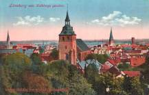 Lüneburg vom Kalkberge gesehen