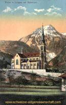 Lungern, Kirche mit Wylerhorn