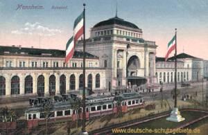 Mannheim, Bahnhof