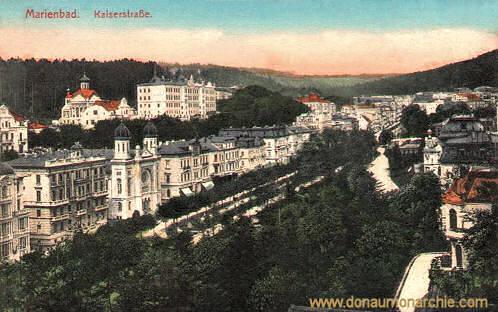 Marienbad, Kaiserstraße