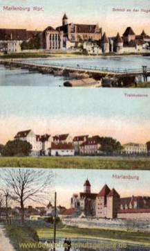 Marienburg, Schloss, Trainkaserne, Marienburg
