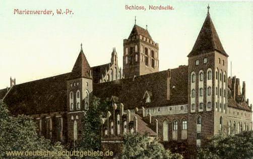 Marienwerder, W.-Pr., Schloss, Nordseite