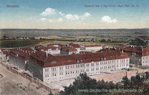 Meißen, Kaserne des 2. Königlich Sächsischen Jäger-Bataillons No. 13