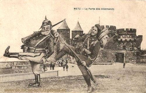Metz, Deutsches Tor 1918