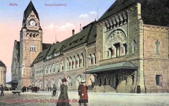 Metz, Hauptbahnhof