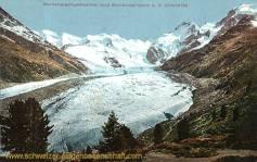 Morteratschgletscher und Berninagruppe