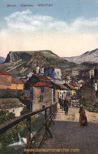 Mostar, Centrum