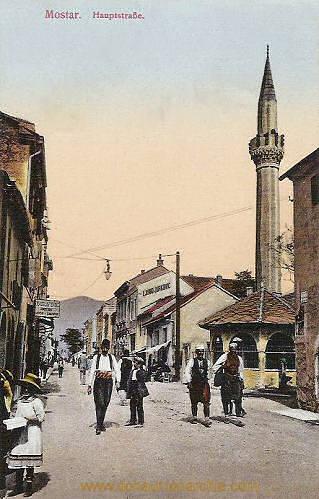 Mostar, Hauptstraße