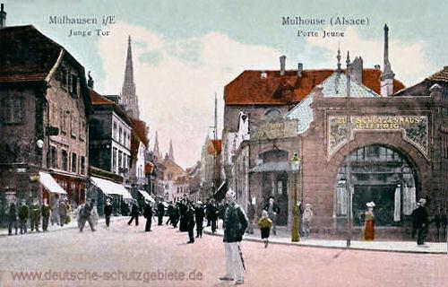 Mülhausen i/E., Junge Tor