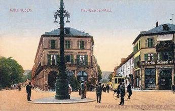 Mülhausen, Neu-Quartier-Platz