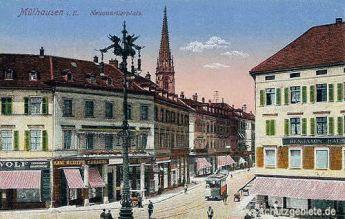 Mülhausen i. E., Neuquartierplatz