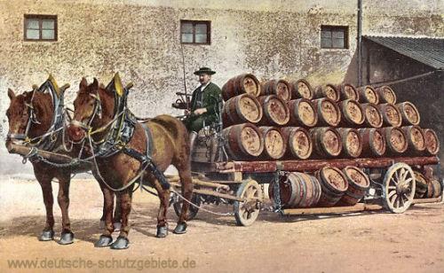 München, Brauereiwagen