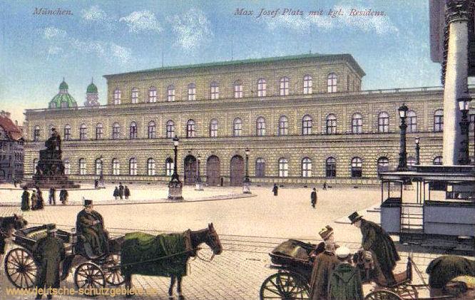 Königreich Bayern: München Königliche Residenz