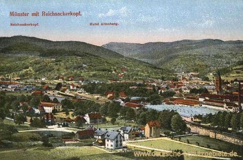 Münster im Elsass, Reichsackerkopf