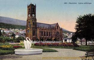 Neuchâtel, Église catholique