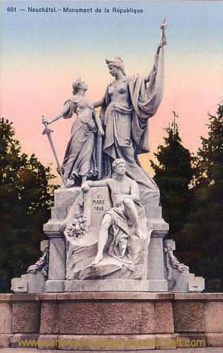 Neuchâtel, Monument de la République