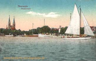 Neuruppin, Seepanorama