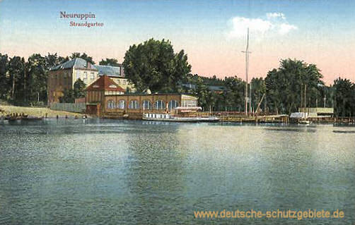 Neuruppin, Strandgarten