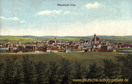 Neustadt an der Orla, Stadtansicht