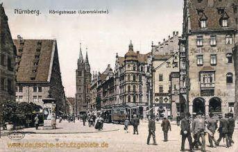 Nürnberg, Königstraße (Lorenzkirche)