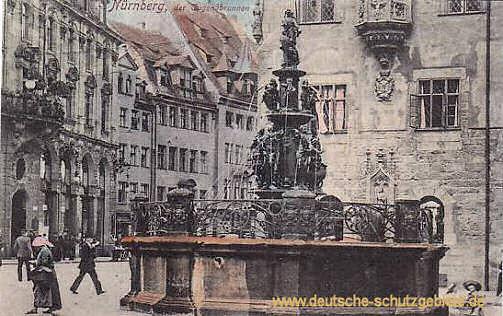 Nürnberg, Tugendbrunnen