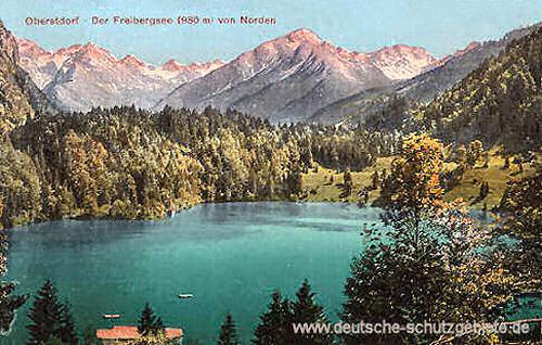 Oberstdorf, Freibergsee (930 m) von Norden