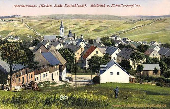 Oberwiesenthal, Höchste Stadt Deutschlands
