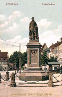 Offenburg. Drake-Denkmal