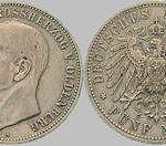 Friedrich August Großherzog von Oldenburg - 5 Mark, 1900