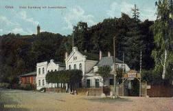 Oliva, Hotel Karlsberg mit Aussichtsturm