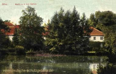 Oliva, Königlicher Garten