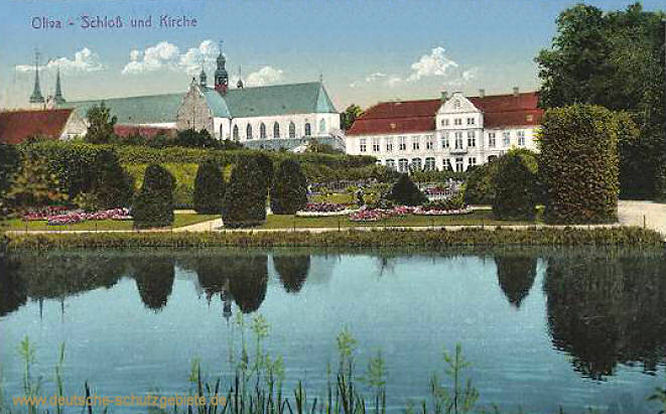Oliva, Schloss und Kirche