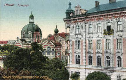 Olmütz, Synagoge