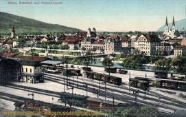 Olten, Bahnhof und Amtshausquai