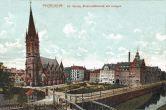 Pforzheim, evangelische Kirche, Elektrizitätswerk mit Anlagen