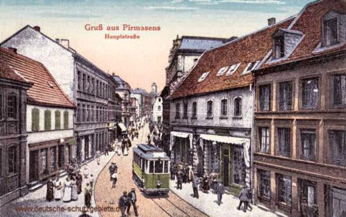 Pirmasens, Hauptstraße