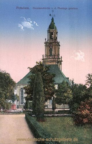 Potsdam, Garnisonskirche v. d. Plantage gesehen