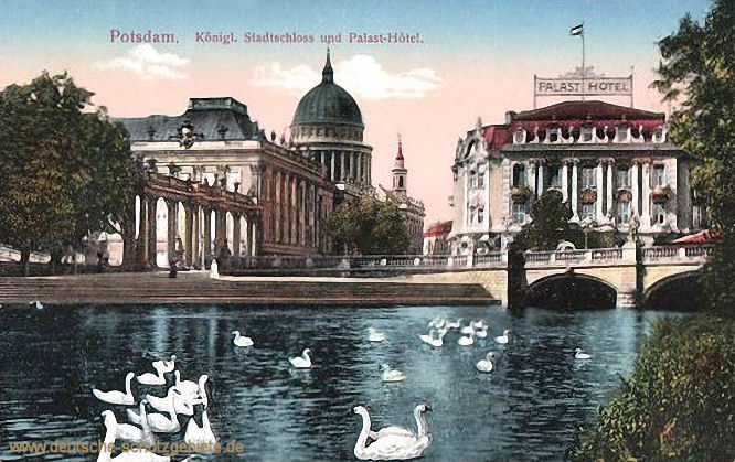 Potsdam, Königliches Stadtschloss und Palast-Hotel