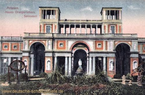 Potsdam, Neues Orangeriehaus Sanssouci