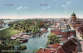 Potsdam, Panorama