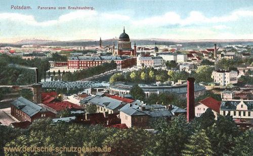 Potsdam, Panorama vom Brauhausberg