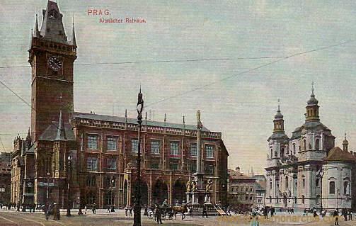 Prag, Altstädter Rathaus