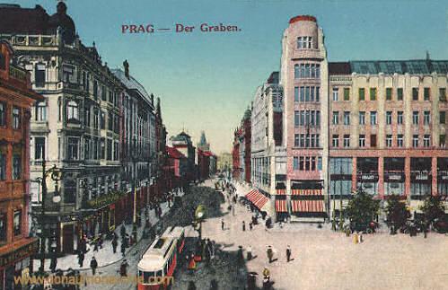 Prag, Der Graben