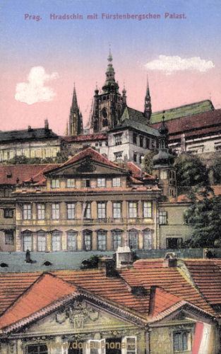 Prag, Hradschin mit Fürstenbergschen Palast