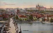 Prag, Hradschin mit Karlsbrücke