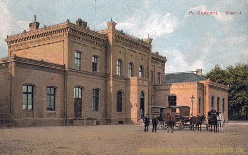 Preußisch-Stargard, Bahnhof