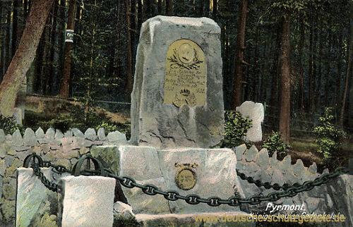 Bad Pyrmont, Königin Luise Gedenkstein