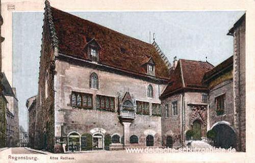 Regensburg, Rathaus