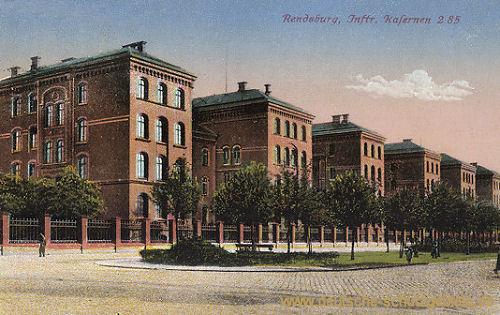 Rendsburg, Infanterie Kasernen 2 85